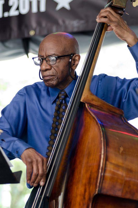 Reggie Workman, jazz bassist