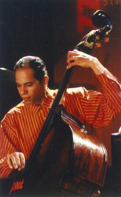 Ira Coleman, playing bass for Arkadia Records