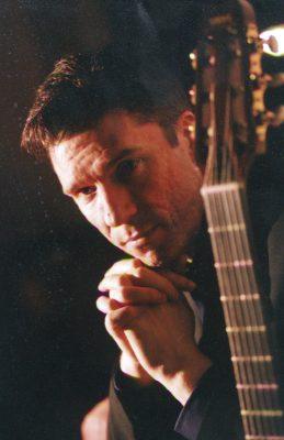 Arkadia artist John Clark, jazz guitarist from Scotland